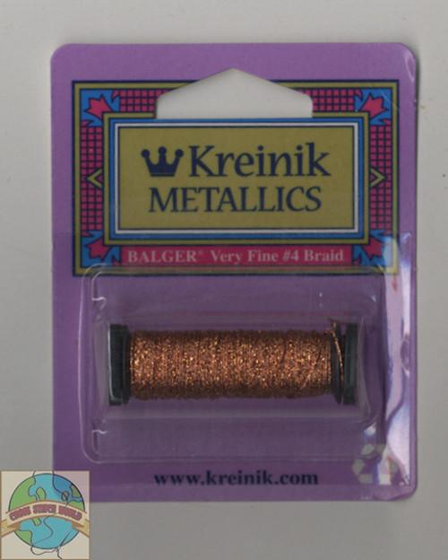 Kreinik Metallics Very Fine #4 Orange #027