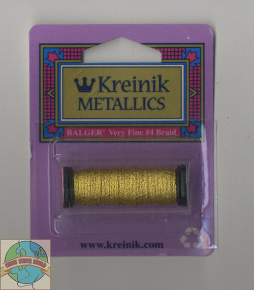 Kreinik Metallics - Very Fine #4 Japan Gold #002J