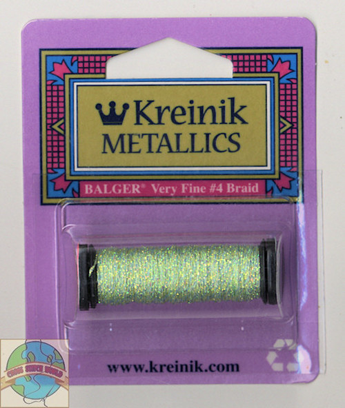Kreinik Metallics - Very Fine #4 Star Green #9194