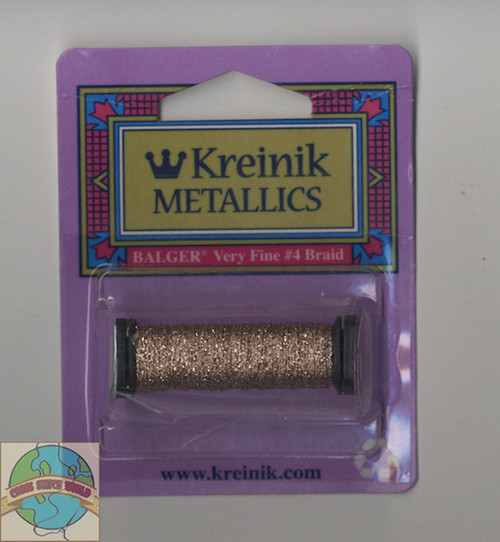 Kreinik Metallics - Very Fine #4 Pink #007
