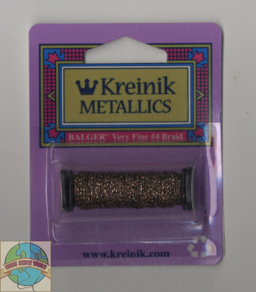Kreinik Metallics - Very Fine #4 Curry #2122