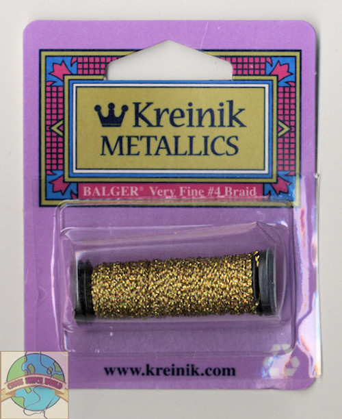 Kreinik Metallics - Very Fine #4 Chromo Gold 002L