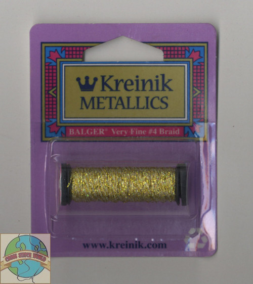 Kreinik Metallics - Very Fine #4 Topaz #3228