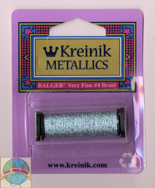 Kreinik Metallics - Very Fine #4 Blue Zircon 3214