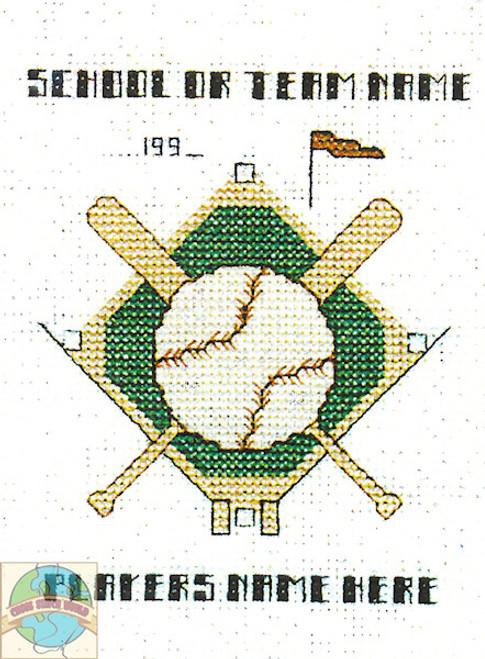 Hilite Designs - Baseball Emblem