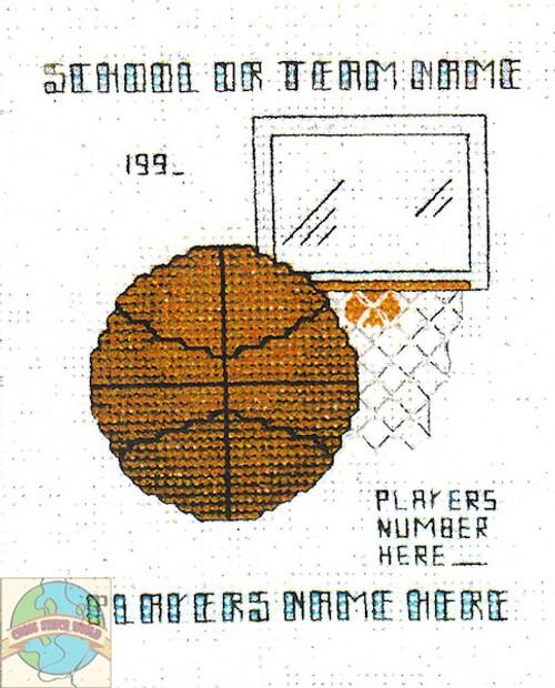 Hilite Designs - Basketball Emblem