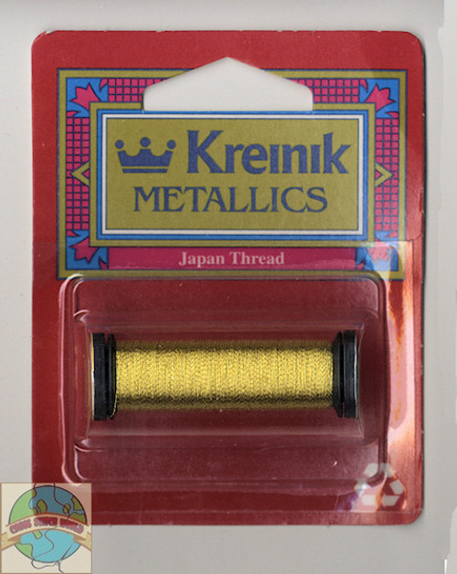Kreinik Metallics Blending Filament - Super Fine #1 Japan Gold #002J