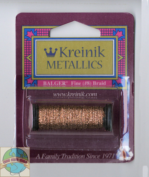 Kreinik Metallics - Fine #8 Copper #021