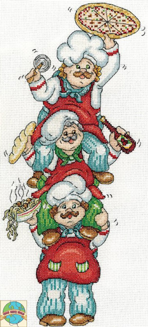 Design Works My Day Off Funny Counted Cross Stitch Kit 14 Count Aida Ronald West