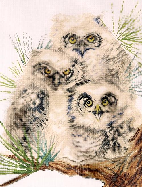 Design Works - Owl Trio