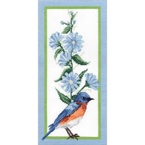 Janlynn - Floral Bluebird