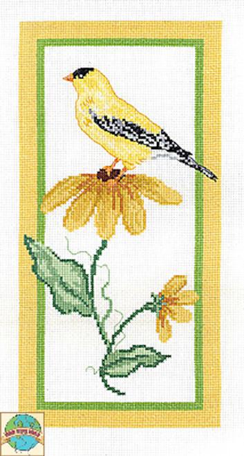 Janlynn - Floral Goldfinch