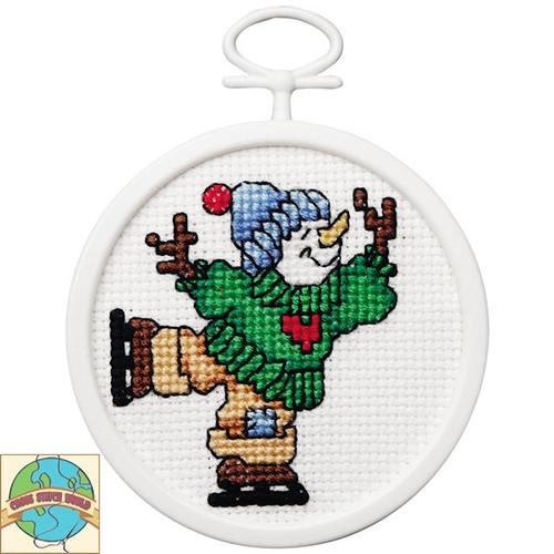 Janlynn Mini - Skating Snowman