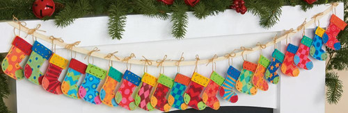 Dimensions - Advent Stocking Garland