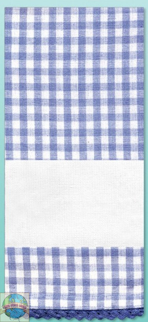Design Works - Blue Gingham Towel