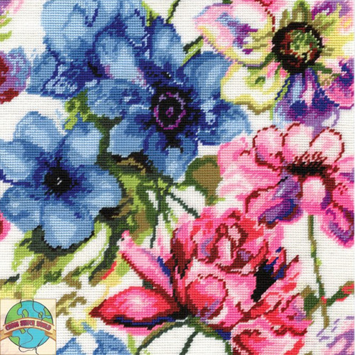 Design Works - Watercolor Floral