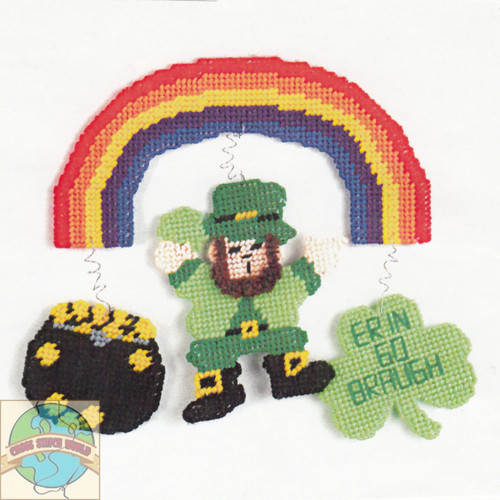 Design Works - St. Patrick's Rainbow Wall Hanging