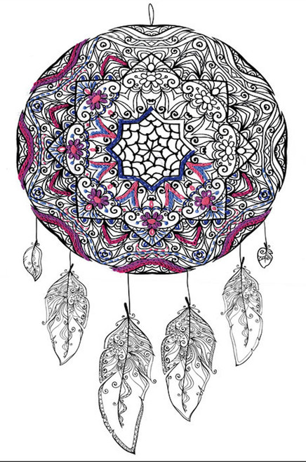 """Design Works - Zenbroidery Dreamcatcher 10"""" x 16"""""""