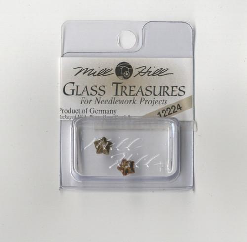 Mill Hill Glass Treasures - Jasmine Flower Light Rose AB