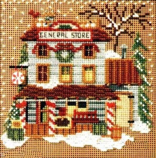 Mill Hill Buttons & Beads Christmas Village - General Store