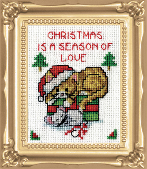 Design Works -  Season of Love Picture Kit w/Frame