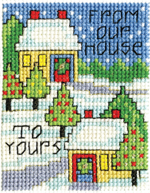 Design Works -  Our House Picture Kit w/Frame