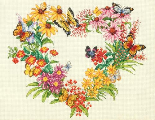 Dimensions - Wildflower Wreath