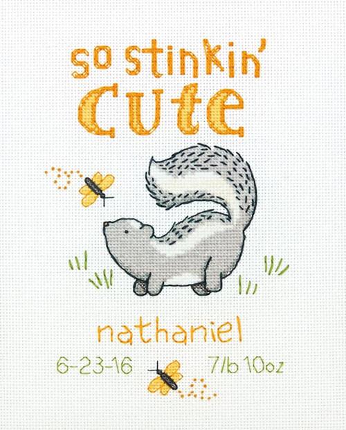 Dimensions - Stinkin' Cute Birth Record