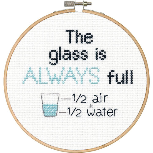 "Dimensions ""Say It!"" - Full Glass"
