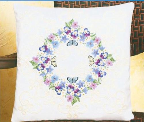 Janlynn - Floral Fantasy Pillow