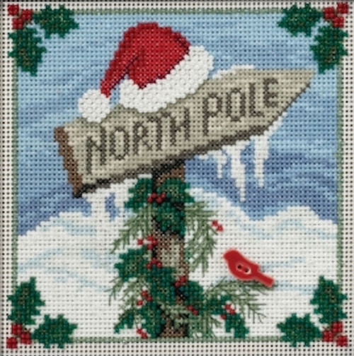 2016 Mill Hill Buttons & Beads Winter Series - North Pole