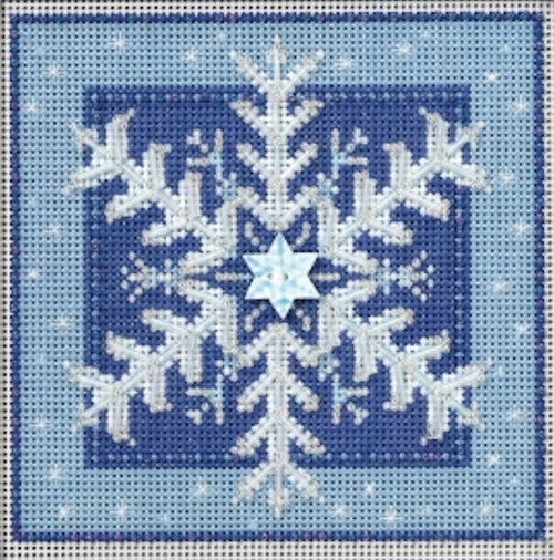 2016 Mill Hill Buttons & Beads Winter Series - Crystal Snowflake
