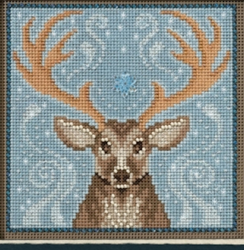 Mill Hill Buttons & Beads - Winter Stag