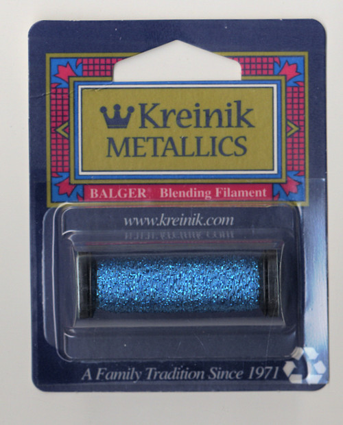 Kreinik Metallics Blending Filament - Blue 006