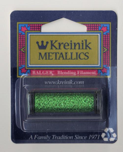 Kreinik Metallics Blending Filament - Green 008