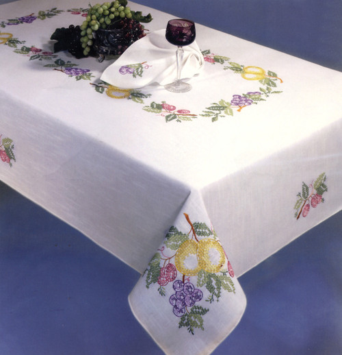 Design Works - Fruit Festival 50in x 70in Tablecloth