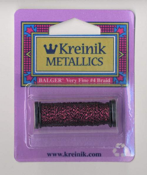 Kreinik Metallics - Very Fine #4 Vintage Burgundy #153V
