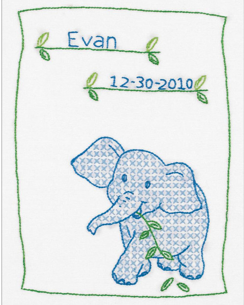 Jack Dempsey Needle Art - Elephant Sampler