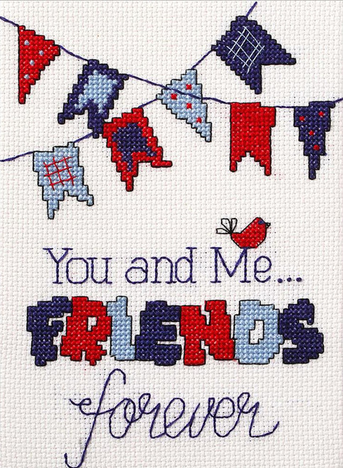 Plaid / Bucilla - My 1st Stitch - Friends Forever