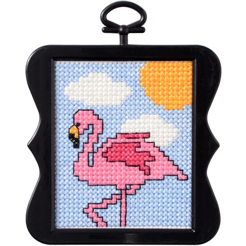 Plaid / Bucilla Beginner Mini - Flamingo