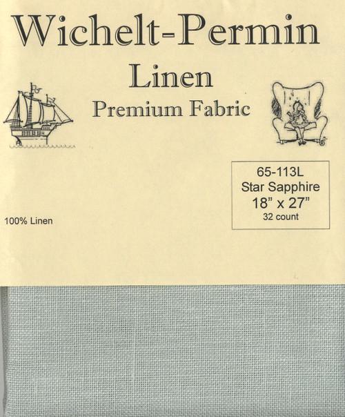 Wichelt - 32 Ct Star Sapphire Linen 18 x 27 in