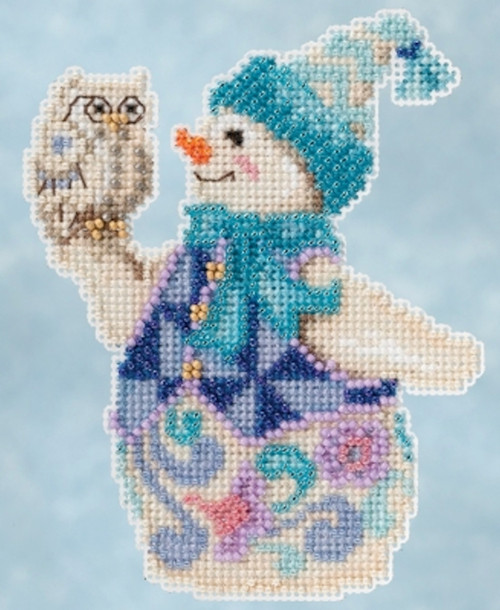 Mill Hill 2015 Jim Shore Winter Series - Snowy Owl Snowman