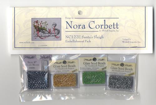 Nora Corbett Embellishment Pack - Santa's Sleigh