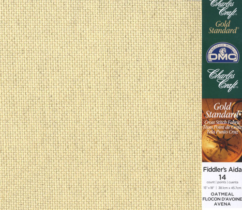 Charles Craft - 14 Ct Oatmeal Aida 15 x 18 in