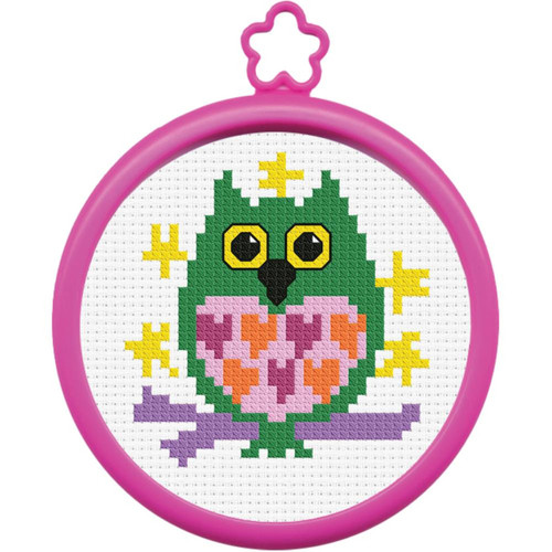 My 1st Stitch - Owl on Branch