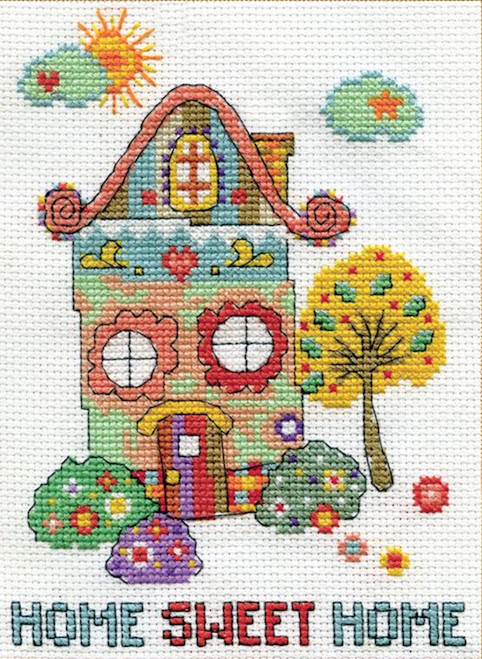 Design Works Home Sweet Home Zenbroidery Crossstitchworld