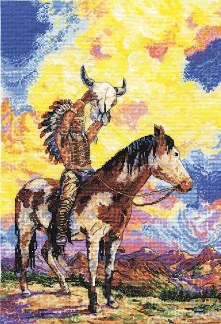 Design Works - Native American Sunset