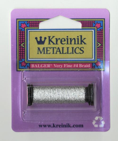 Kreinik Metallics - Very Fine #4 Platinum 101