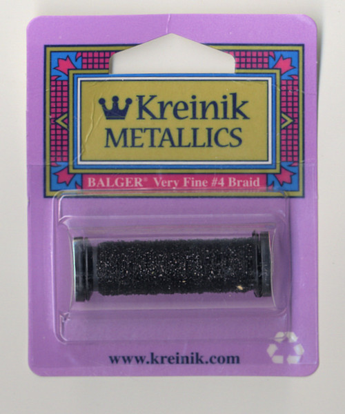 Kreinik Metallics - Very Fine #4 Black 005
