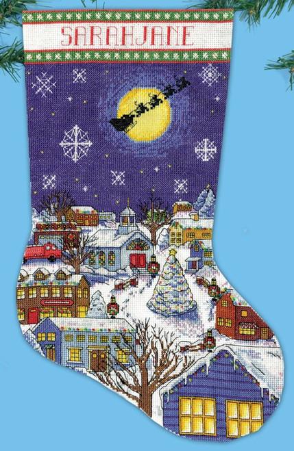 Design Works - Christmas Eve Stocking